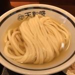 手作りうどん 天粉盛 - ひやかけうどん580円(税込)