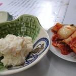 マルフク - ポテトサラダ&キムチ