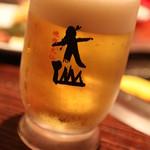 焼肉 大仙 - 生ビール