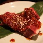 焼肉 大仙 - 骨付きカルビ