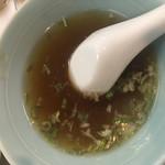 五味酉 - サービス スープ♡