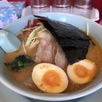ラーメン山岡家 - 特製味噌ネギチャーシューにJAF味玉 ¥1.050
