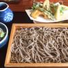 かなうち - 料理写真:天ぷら付き板そば