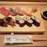 みやこ寿司 - 料理写真:並すし1,080円(税込)