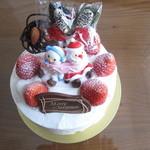 パティシェ オカダ - クリスマスケーキ