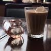 琥珀 - ドリンク写真:アイス カフェ・オ・レ