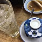 まるしん - 別の日に食べた「茶碗蒸し」です。