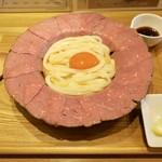 109240336 - 肉釜玉うどん(1280円)