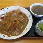 ひろや食堂 - カツカレー(¥650)