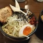 麺場 田所商店 - 仙台辛味噌つけ麺 950円 ♪