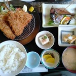 伊豆之助 - あじアジ定食 1100円
