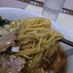 109252196 - 越乃椿(小麦粉)を使用した極細麺