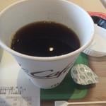 マクドナルド - コーヒーMサイズは300グラム(2019.4.30)