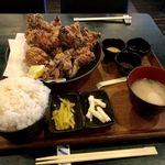 媛 故郷味の旅 - せんざんき定食 がっつり(10コ)