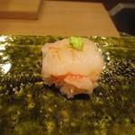 饗庵大乃 - 牡丹海老 手毬寿司