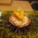 饗庵大乃 - 海胆 手毬寿司