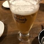 肝どん - オリオンビール