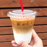 サザ コーヒー - まっちゃんが代わりにオシャレに映えるカフェラテを撮ってきてくれました♩