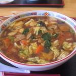 がんこ一番 - 料理写真:うま煮麺750円