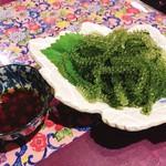 今帰仁城 - 料理写真:海ぶどう