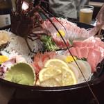 横浜 藤よし - 舟盛り