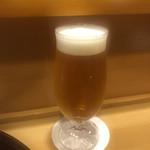 味享 - 最初は生ビール