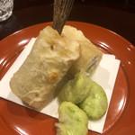 味享 - 千葉の竹岡産のメゴチと空豆