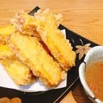 109265361 - 出汁巻玉子の天ぷら