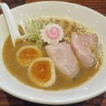吉み乃製麺所 - 【飛出汁らーめん + 味玉】¥800 + ¥100