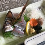 Izunosuke - アジの刺身