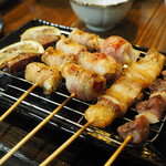 串ザンマイ - 料理写真:串盛りその1