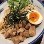 AFURI - 2019/6/7 ディナーで利用。 甘露(あまつゆ)つけ麺(大)(1,280円)