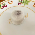 月ヶ瀬 - 料理写真:とろろ饅頭