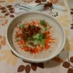 担担 - 白ゴマ担々麺(¥850税抜き)
