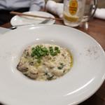 オイスターバー COVO - 牡蠣と岩のりのクリームリゾット