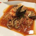 パスタイオ・コッコ - 料理写真:魚介のトマトスパゲティ