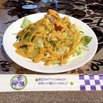 アルカラム - サラダは箸がベスト