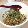 麺小屋 てち - 料理写真:みそまぜそば(麺少なめ+半熟玉子) 780円 麦味噌の風味が生きた一杯です。