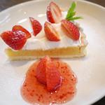 プージアンドプーバ - 料理写真:いちごのタルト