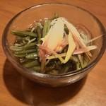 若大将 - じゅんさいポン酢 ¥290―