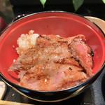 109282455 - ミニビフテキ丼