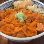 武ちゃん寿し - バフンウニ丼