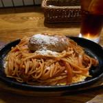 ピッツェリア マルブン - 小松名物鉄板ナポリタン。現代的な味付けです
