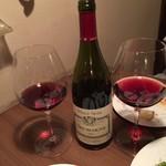ブラッスリー レキップ - ワイン2本目、ルイジャドのピノノワール