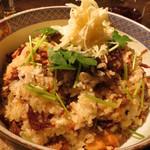 なっぱjuicy - 大盛りのご飯