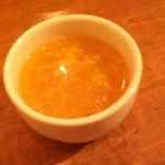ロイヤル・タジ - 中華スープ?