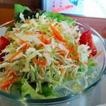 蓮花カフェ - セットのサラダ