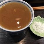 109290959 - 蕎麦湯で割ったつゆ 2019.05