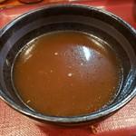 湘南 大勝軒 - スープ割り