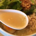 109296998 - 鶏白湯麺塩ソバ